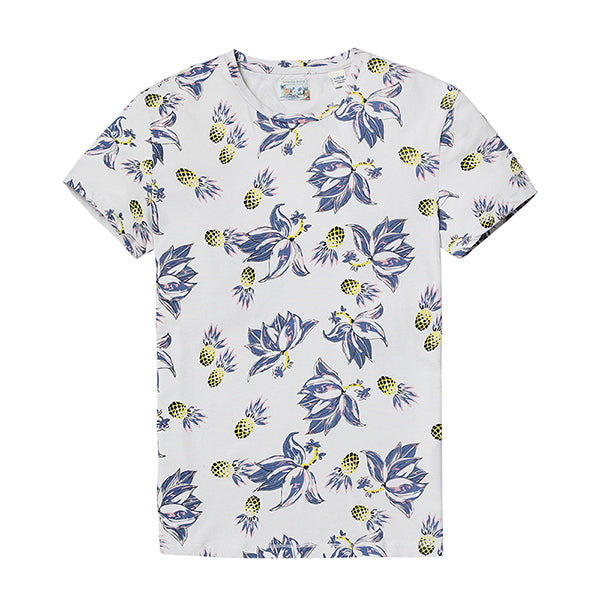 Floral Hawaiian T-Shirt