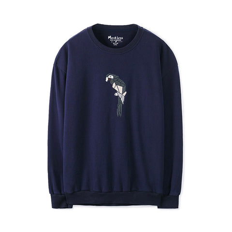 Sweatshirt with Bird