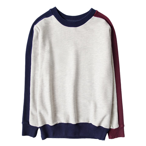 Men - Contrast Color Sweatshirts