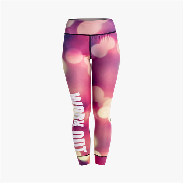 Leggingg - Workout City Night View
