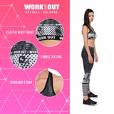 Work Out Raster Printing Gray
