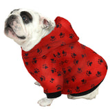 English Bulldog BEEFY Hoodie Sweatshirt - Fits 31 to 55 LB Dog - Over 20 Patterns to Choose From!