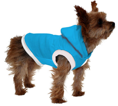 Chihuahua / Yorkie Hoodie T-Shirt - Fits 5 to 9 Pound Dog - Available in 6 Colors!