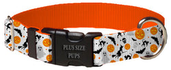 Plus Size Pups Halloween Dog Collar Multi Pattern