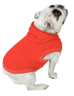 English Bulldog BIGGER THAN BEEFY Hoodie T-Shirt - Fits 56 to 80 Pound Dog - Available in 6 Colors!