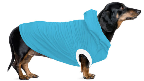 NEW - Dachshund Hoodie T-Shirt - Fits Toy, Tweenies, Standards - Available in 9 Colors!