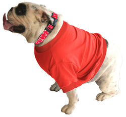 English Bulldog BIGGER THAN BEEFY Shorty T-Shirt - Fits 56 to 80 Pound Dog - Available in 6 Colors!