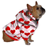 French Bulldog Hoodie Sweatshirt - Fits 16 to 30 LB Dog - Over 20 Patterns to Choose From!