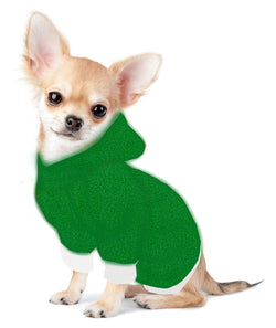 Christmas Chihuahua/Yorkie Hoodie Sweatshirt - Fits 5 to 9 LB Dog