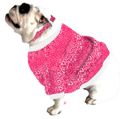English Bulldog BEEFY Shorty Sweatshirt - Fits 31 to 55 LB Dog - Lots of Patterns to Choose From!