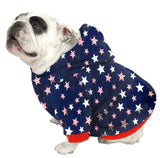 English Bulldog BIGGER THAN BEEFY Hoodie Sweatshirt - Fits 56 - 80 LB Dog - +20 Patterns to Choose From!
