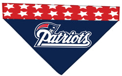 Football Dog Bandana - Patriots