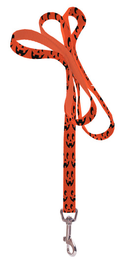 Plus Size Pups Dog Leash - Pumpkin Face
