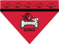 College - Arkansas Razorbacks Dog Bandana