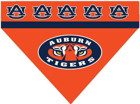 College - Auburn Tigers Dog Bandana