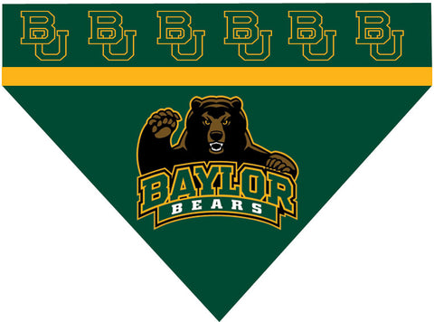 College - Baylor Bears Dog Bandana
