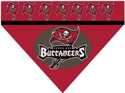 Football Dog Bandana - Buccaneers