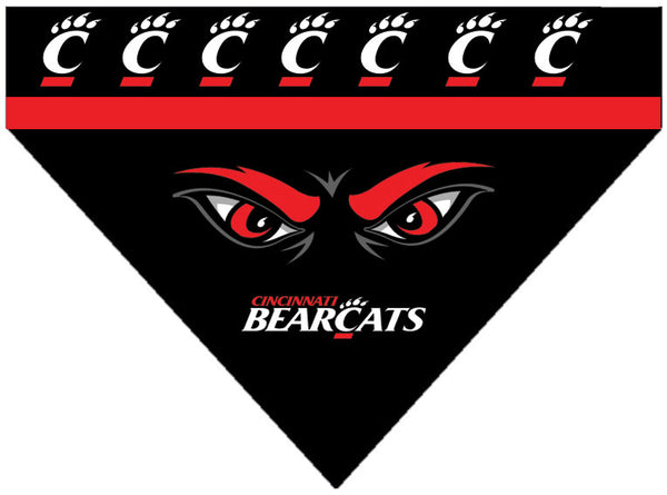 College - Cincinnati Bearcats Dog Bandana