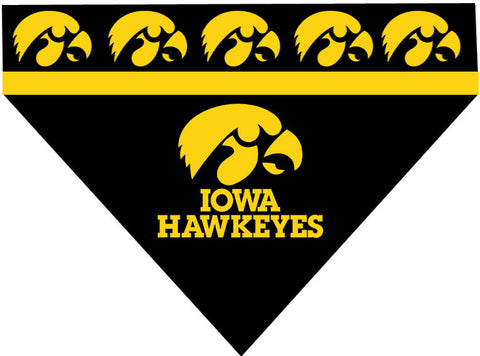 College - Iowa Hawkeyes Dog Bandana