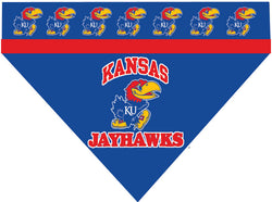 College - Kansas Jayhawks Dog Bandana