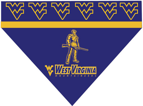 College - West Virginia Mountaineers Bandana