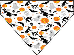 Plus Size Pups Halloween Bandana Multi-Pattern