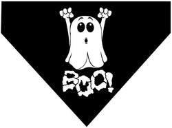 Plus Size Pups Halloween Dog Bandana Boo Ghost