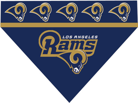 Football Dog Bandana - Rams