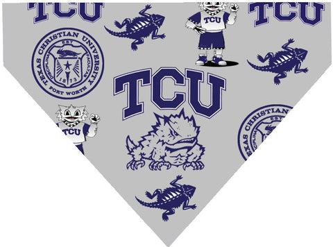College - TCU Horned Frogs Dog Bandana