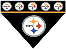 Football Dog Bandana - Steelers
