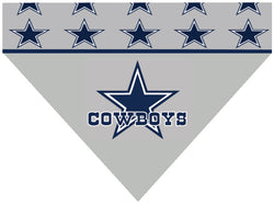 Football Dog Bandana - Cowboys