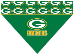 Football Dog Bandana - Green Bay