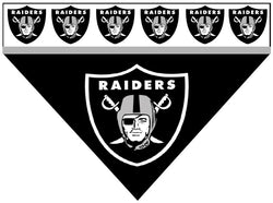 Football Dog Bandana - Raiders