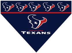 Football Dog Bandana - Texans