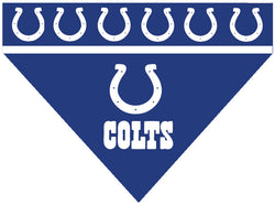 Football Dog Bandana - Colts