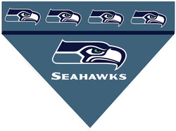Football Dog Bandana - Sea Hawks