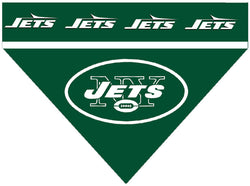 Football Dog Bandana - Jets
