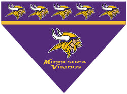 Football Dog Bandana - Vikings