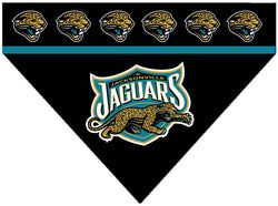 Football Dog Bandana - Jaguars