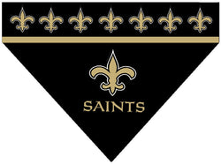 Football Dog Bandana - Saints