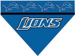 Football Dog Bandana - Lions