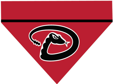 Baseball Dog Bandana - Arizona Diamondbacks