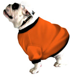 English Bulldog BTB Shorty Sweatshirt - Fits 56 to 80 LB Dog - Lots Of Patterns to Choose From!