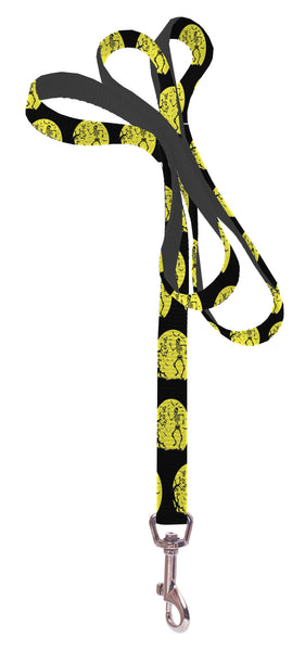 Plus Size Pups Dog Leash - Skeleton and Moon