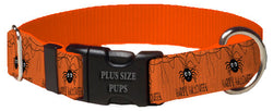Plus Size Pups Halloween Dog Collar Halloween Spider