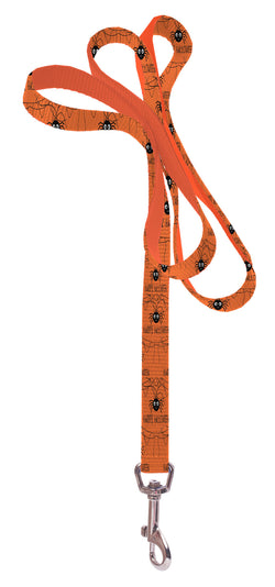 Plus Size Pups Dog Leash - Spider Happy Halloween