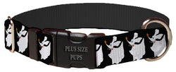 Plus Size Pups Halloween Dog Collar Zero
