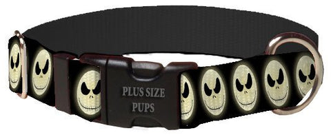 Print Pattern Dog Collar - Halloween Jack Skellington