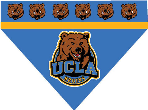 Over the Collar Dog Bandanna - University California Los Angeles - UCLA Bruins