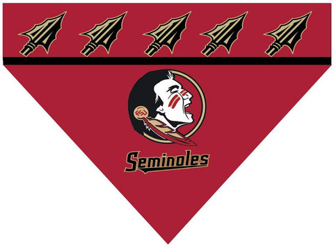 Over the Collar Dog Bandanna - Florida State Seminoles